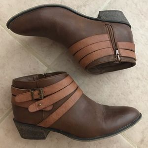 Adorable Fall Strappy Booties